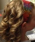 Beautiful spiral curls.