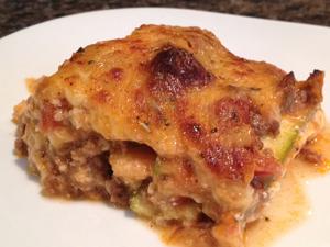 NW Mama's zucchini lasagna.. yum!